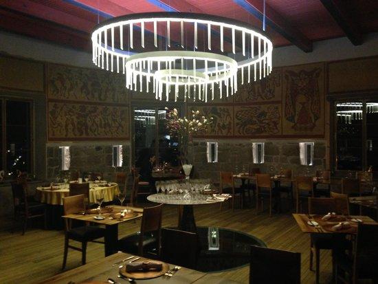 Restavracija Strelec: Interno del ristorante