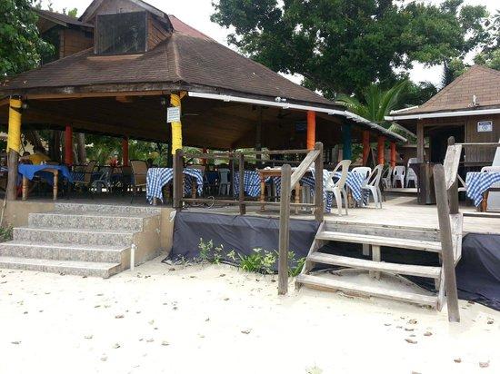 Negril Palms Hotel : Juicy's