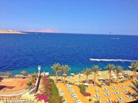 Stella Di Mare Beach Hotel & Spa: View from our hotel room!
