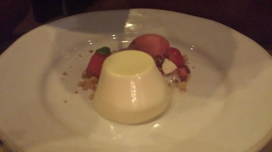 Barbecoa: Pannacotta