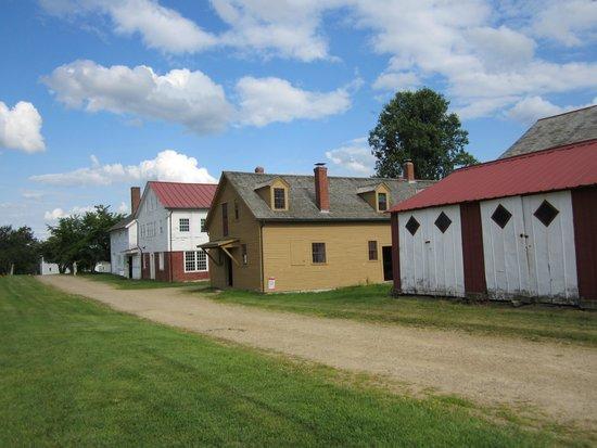 Enfield Shaker Museum: Village buildings
