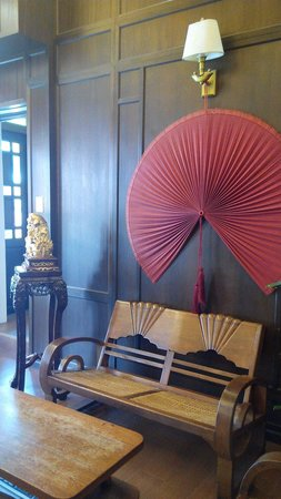 Jonker Boutique Hotel: Hotel lobby w traditional deco