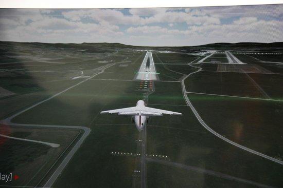 Verkehrshaus der Schweiz: Landing simulator