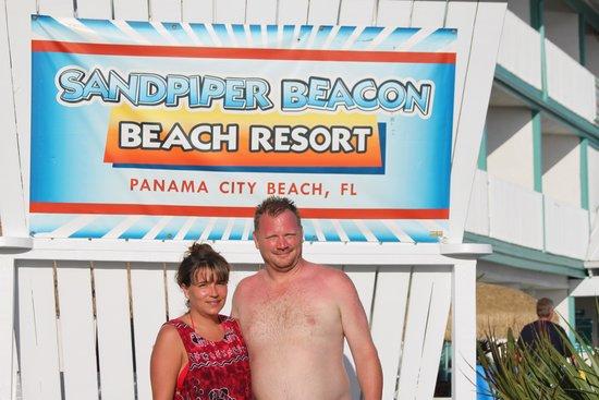 Sandpiper Beacon Beach Resort: The big chair