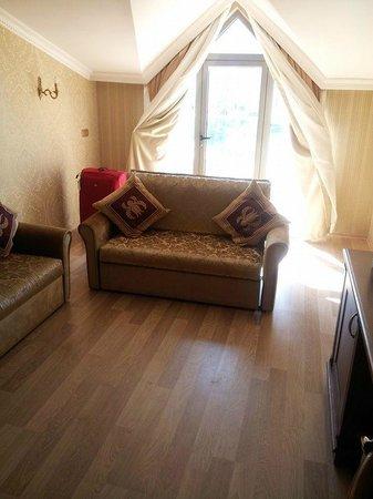 Hotel Emre: Lounge area of suite