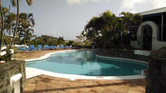 Windjammer Landing Villa Beach Resort : Pool at Papa Dons