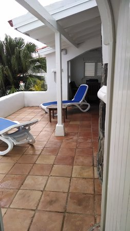 Windjammer Landing Villa Beach Resort : Our Deck