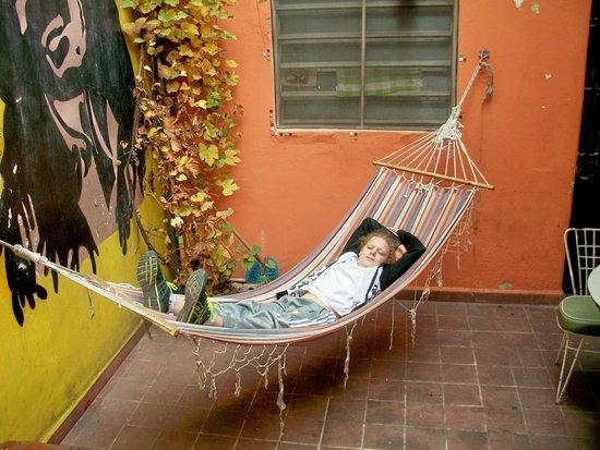 Kalifornia Hostel: disfrutando