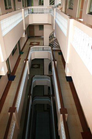 Hotel Nepalaya : View inside