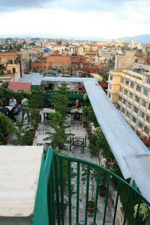 Hotel Nepalaya : View from the very top