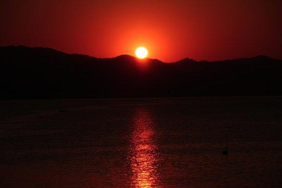 Sensimar Marmaris Imperial : Sunset from restaurant