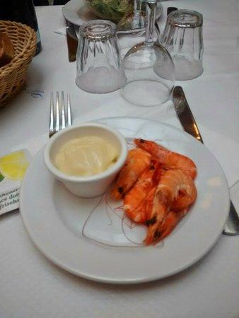 Le Bouillon Chartier : Avocat sauce crevettes