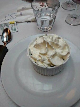 Le Bouillon Chartier : Coupe Mont Blanc (crème de marron chantilly)