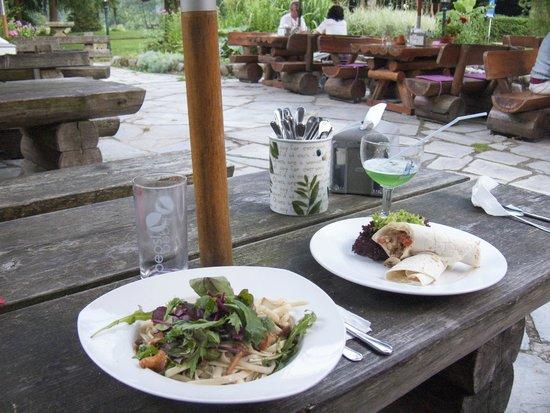 Gühlen, Deutschland: Abendessen