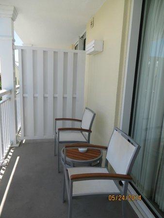 The Reach Key West, A Waldorf Astoria Resort : The balcony/terrace