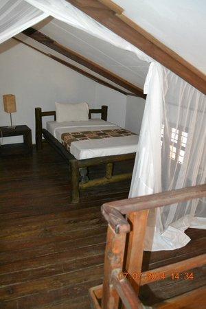 Ambureni Coffee Lodge: chambre en mezzanine