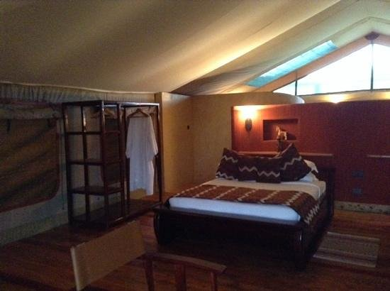 Mara Engai Wilderness Lodge: a shot from our tent room