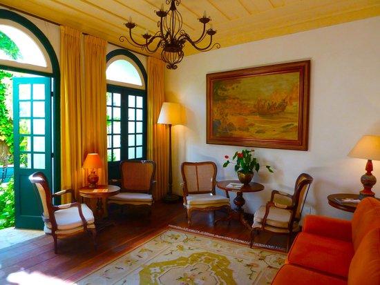 Villa Bahia: Amazing hotel lobby