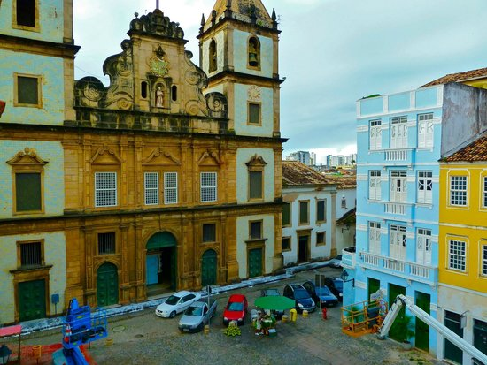 Villa Bahia : View of the plaza from my room