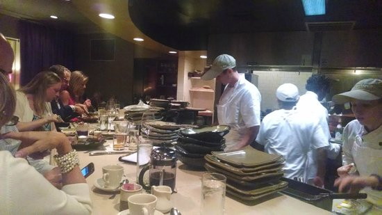 Hot & Hot Fish Club: Chef's table
