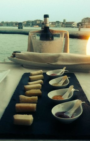 Riviera : Cheese for dessert - excellent