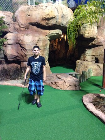 Congo River Golf: Having fun
