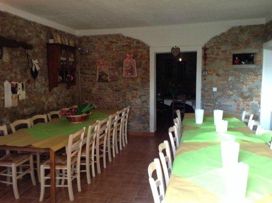 Podere Borgaruccio: Salle à manger