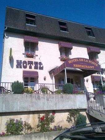 Logis de la Poste: hotel de la poste- vauclaix