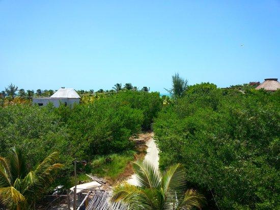Villa los Mangles: playa tranquila a 80 metros