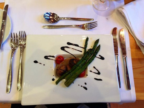 Club Jandia Princess : Food from the pre-booked restaurant.