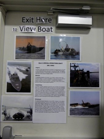 Navy Seal Museum: Education board
