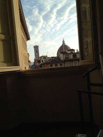 First thing I saw when I woke up - Picture of Soggiorno Antica Torre ...