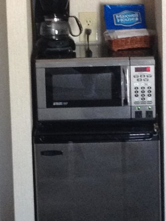 The Georgian Lakeside Resort : Mini fridge, coffee maker, microwave