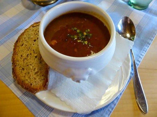 Restaurant Alter Keller : Goulash soup.