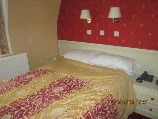 Shap Wells Hotel: Double bed