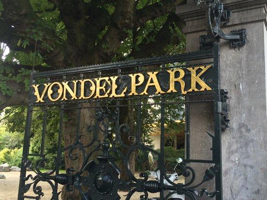 Vondelpark : Vondlepark