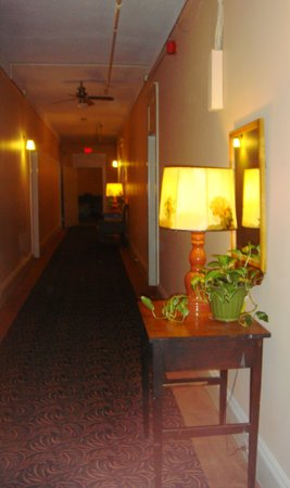 Hotel Coolidge: Hallway on floor 2