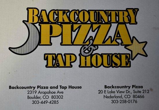 Backcountry Pizza: Logo