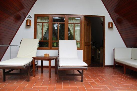 La Digue Island Lodge : intreno camera