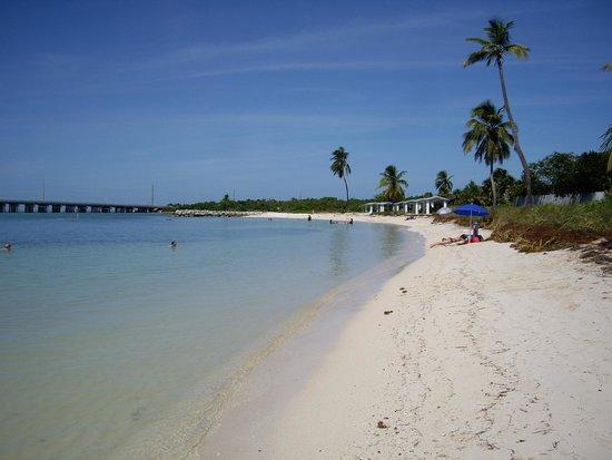 Bahia Honda State Park and Beach: La plage côté ouest