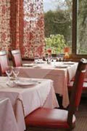 La Salle de restaurant du restaurant La Clef des Champs à Saint Blaise