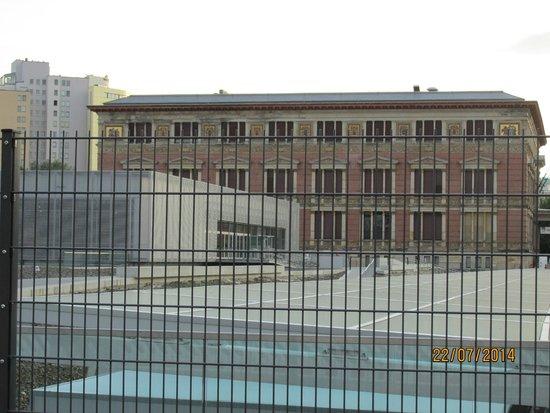 Topografía del Terror: Vista del Edificio que alberga la exposición