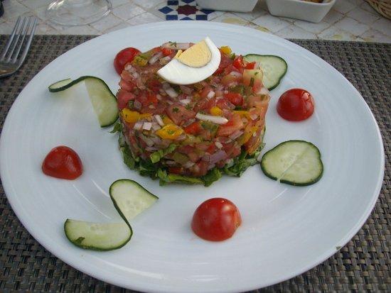 Restaurant Bab Sbaa : Tomato Salad