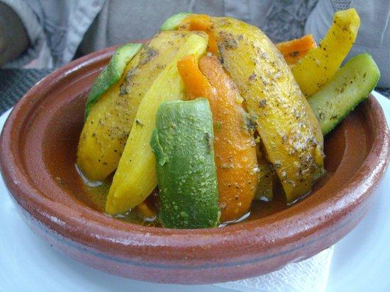 Restaurant Bab Sbaa : Vegetable Tagine