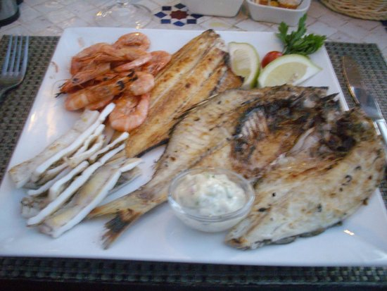 Restaurant Bab Sbaa : Mixed Grill!!!