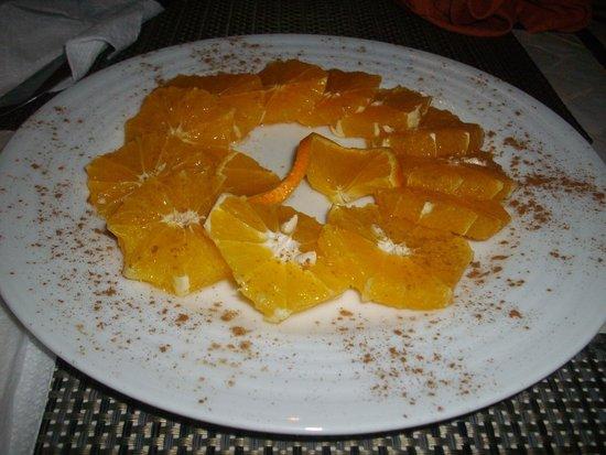 Restaurant Bab Sbaa : Sliced Orange Dessert