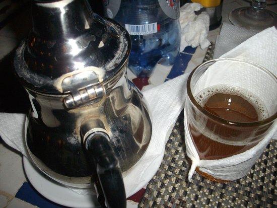 Restaurant Bab Sbaa : Mint Tea!