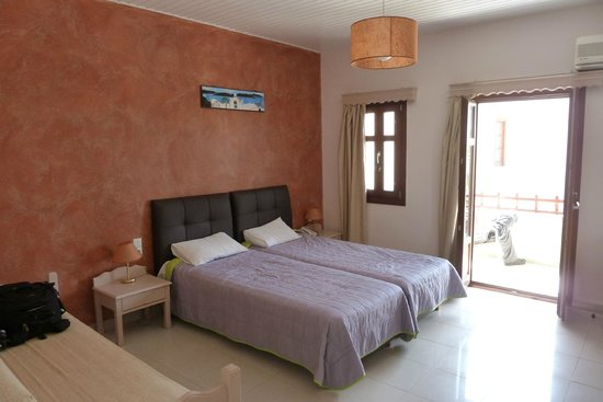 Smaragdi Hotel: Room