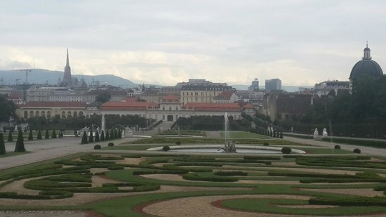 Belvedere Palace Museum : View from top down