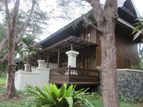 Tanjong Jara Resort: room from outside